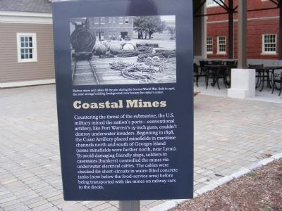 Coastal Mines Marker image. Click for full size.