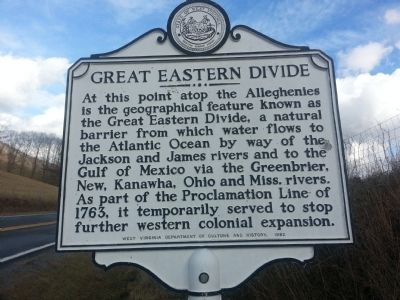 Great Eastern Divide Marker image. Click for full size.