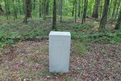 30th Tennessee Infantry Marker image. Click for full size.