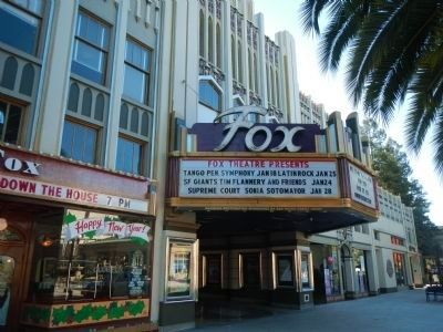 New Sequoia/Fox Theatre image. Click for full size.