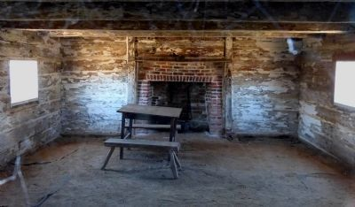 Interior of the Slave Cabin image. Click for full size.