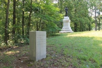 50th Tennessee Infantry Marker image. Click for full size.