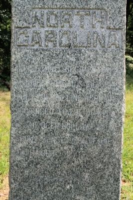39th North Carolina Infantry Marker image. Click for full size.