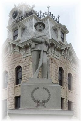 Hill County Confederate Memorial image. Click for full size.