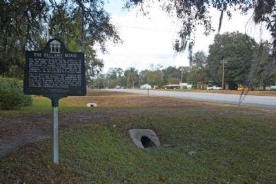 The Bellamy Road Marker looking north image. Click for full size.