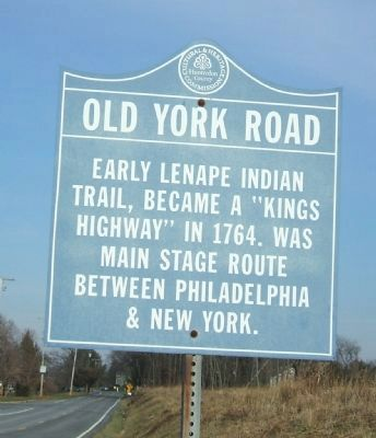 Old York Road Marker image. Click for full size.