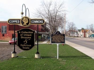 Nappanee Furniture Marker at Coppes Commons image. Click for full size.