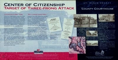 Center of Citizenship Marker image. Click for full size.