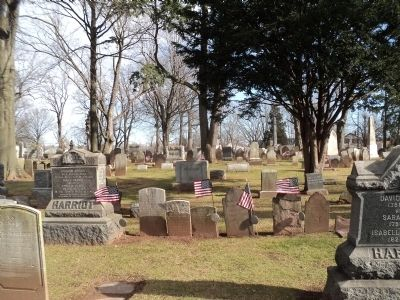 Graves in First Presbyterian Church Cemetery image. Click for full size.