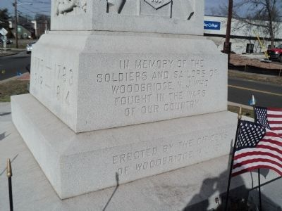 Woodbridge War Memorial Marker image. Click for full size.