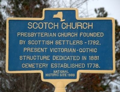 Scotch Church Marker image. Click for full size.