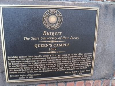 Queen's Campus Marker image. Click for full size.
