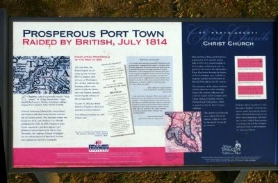 Prosperous Port Town Marker image. Click for full size.
