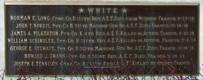 Names Plaque image. Click for full size.