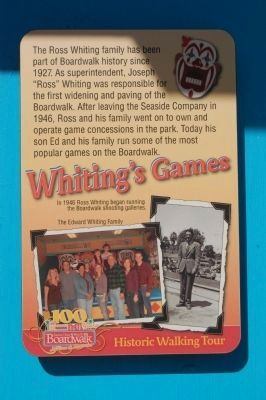 Whiting's Games Marker image. Click for full size.