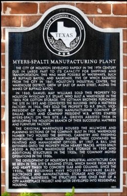 Myers-Spalti Manufacturing Plant Marker image. Click for full size.