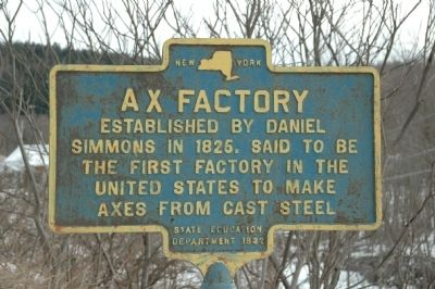 Ax Factory Marker image. Click for full size.