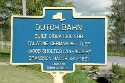Dutch Barn Marker image. Click for full size.