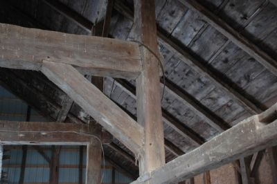 Anchor Beam - Shoultes Dutch Barn image. Click for full size.
