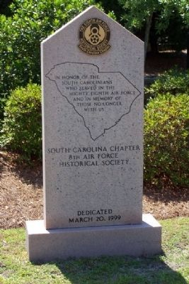 South Carolina Chapter 8th Air Force Historical Society image. Click for full size.