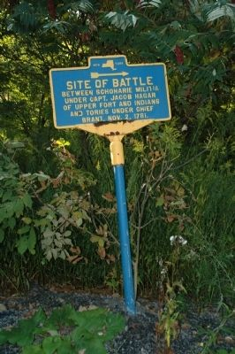 Site of Battle Marker image. Click for full size.