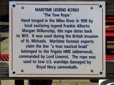 Maritime Legend #21663 Marker image. Click for full size.