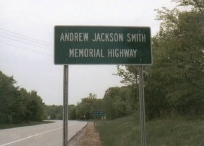 Andrew Jackson Smith Marker image. Click for full size.