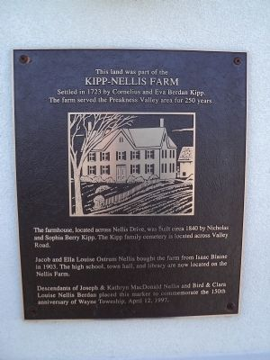 Kipp – Nellis Farm Marker image. Click for full size.
