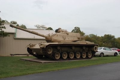 Tank at American Legion Post 118 image. Click for full size.