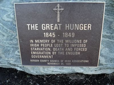 The Great Hunger Marker image. Click for full size.