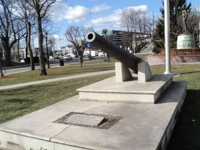 Hackensack Soldier and Sailor Memorial Marker image. Click for full size.