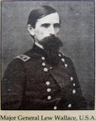 Major General Lew Wallace, U.S.A image. Click for full size.