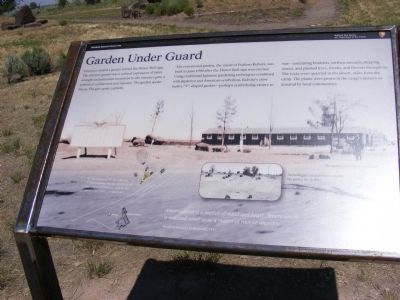 Minidoka National Historic Site Marker image. Click for full size.