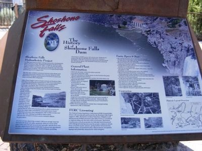 Shoshone Falls Marker image. Click for full size.