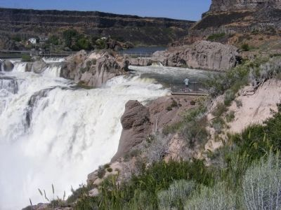 Shoshone Falls image. Click for full size.