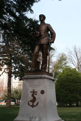 Worth Bailey statue image. Click for full size.