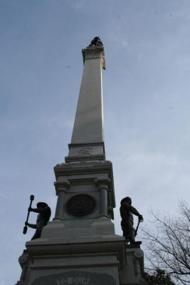 To Our Confederate Dead statue image. Click for full size.
