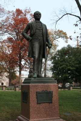Charles Duncan McIver statue image. Click for full size.