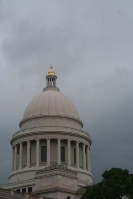 Dome at Capitol in Little Rock image. Click for full size.