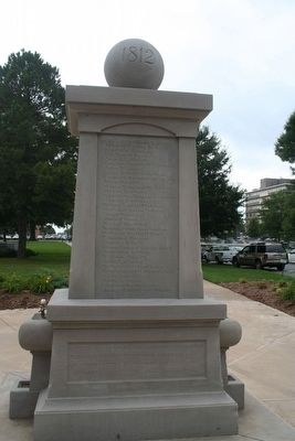 In Memory of the Soldiers of 1812 Buried in Arkansas image. Click for full size.