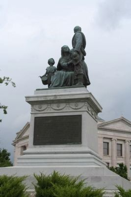 Monument to Confederate Women image. Click for full size.