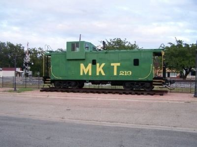 a Katy Caboose on display image. Click for full size.