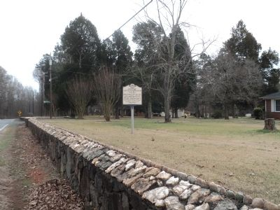 Marker on Beaties Ford Road image. Click for full size.