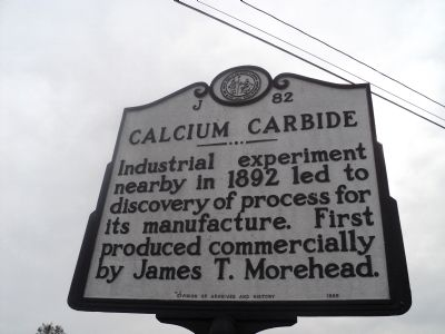 Calcium Carbide Marker image. Click for full size.