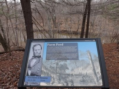 New Farm Ford Marker image. Click for full size.