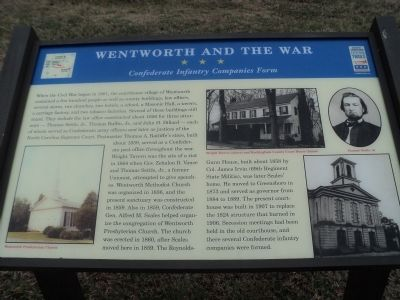 Wentworth and the War Marker image. Click for full size.
