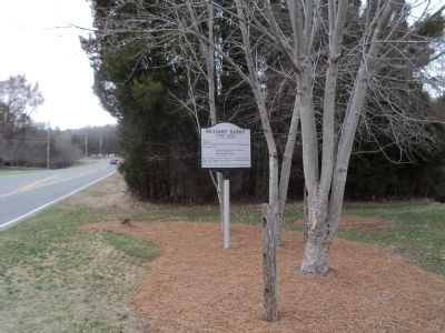 Marker on Beatties Ford Road image. Click for full size.