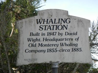 Whaling Station Marker image. Click for full size.