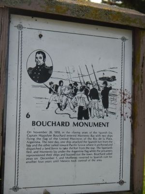 The Original Bouchard Monument Marker image. Click for full size.