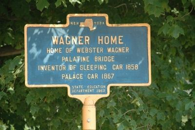 Wagner Home Marker image. Click for full size.